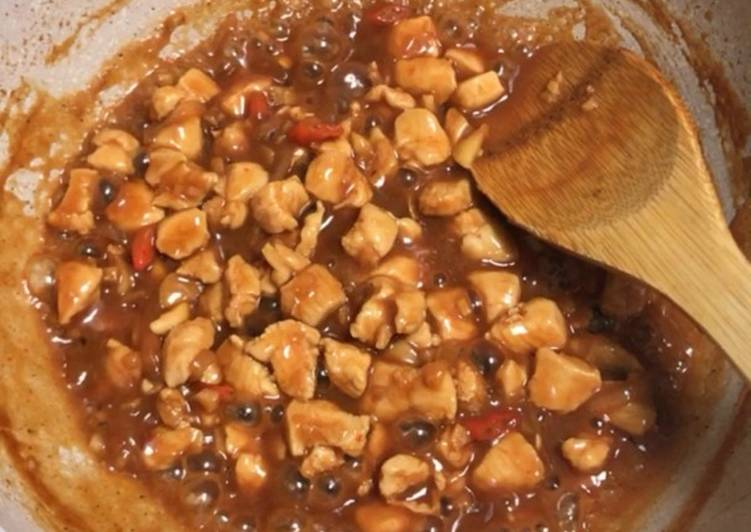 Ayam saos padang - Diet No Gula, Minyak, santan, tepung