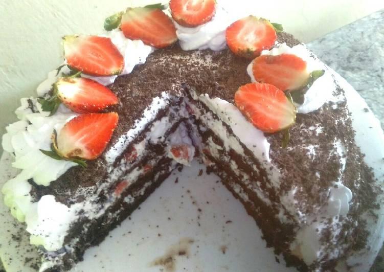 Original black forest cake #christmas revival