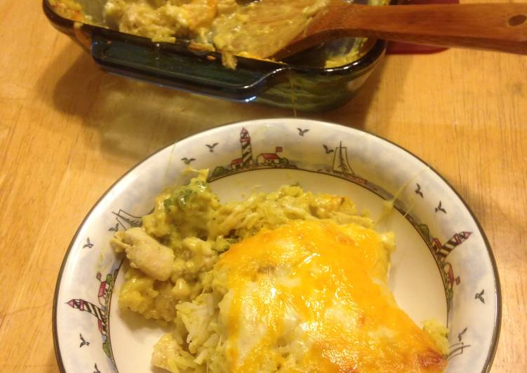 Curry Chicken Broccoli Casserole