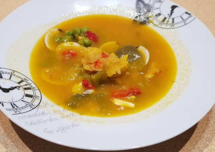 Sopa pescado rápido tm5