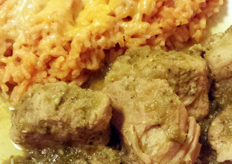 Crock Pot Chile Verde