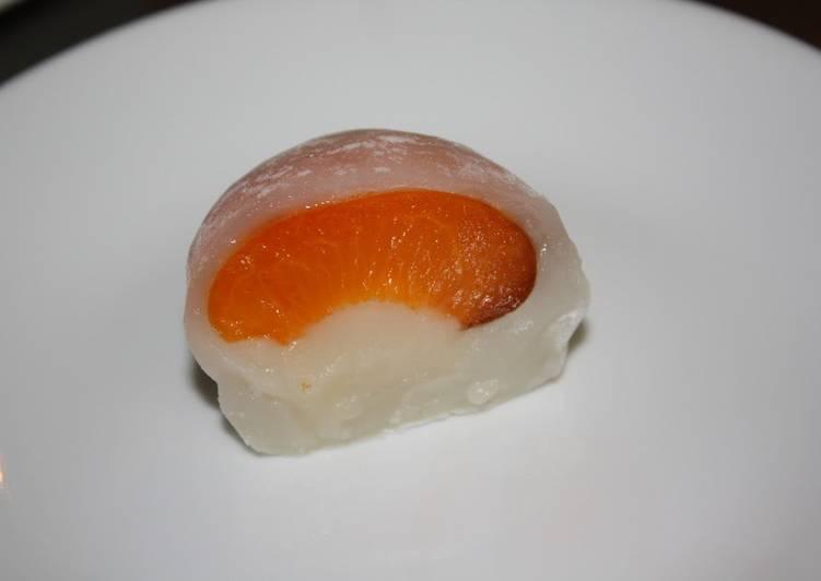 How to Make Favorite Original Apricot Daifuku