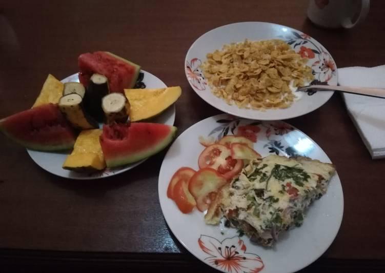 Spanish omelette.... #Breakfastcontest