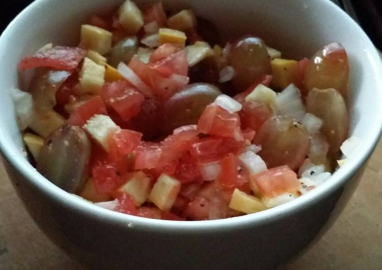 Iz's Vegan Mediterranean Inspired Salad