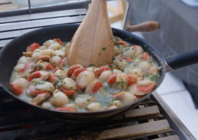 How To Make My Grilling Spot Scallop Stew So Easy