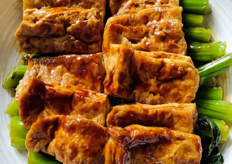 Easiest Way to Prepare Homemade Terikayi Tofu