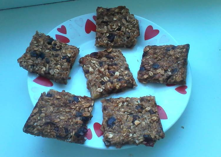 Healthy fat-free granola bars
