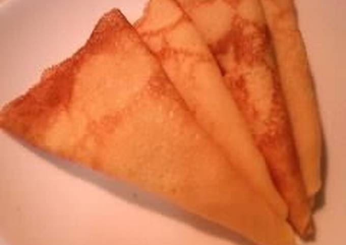 Delicious The Next Day Too! Easy Smooth Crepe Batter