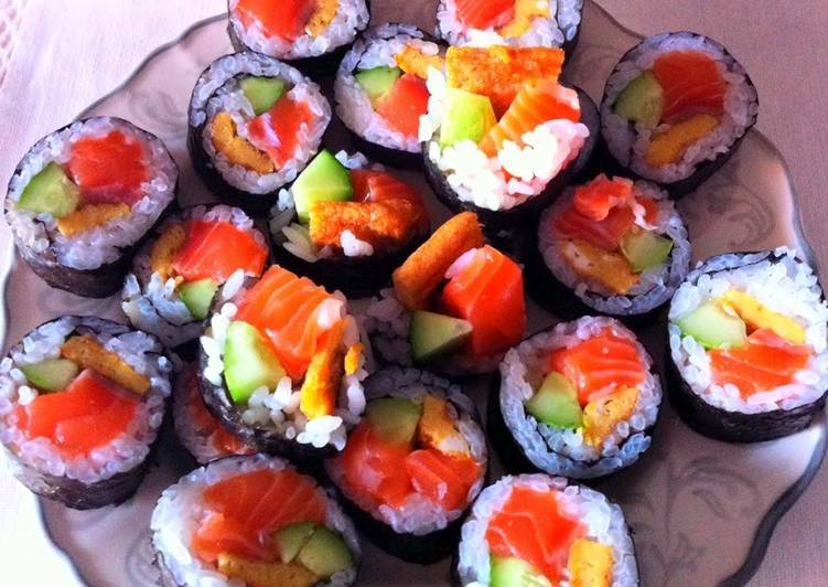 Step-by-Step Guide to Prepare Any-night-of-the-week Kanya's Easy Sushi At Home