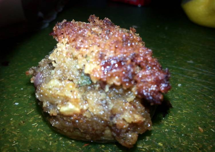 Easiest Way to Prepare Tasty GARLIC And BACON STUFFED MUSHROOM APPITIZERS