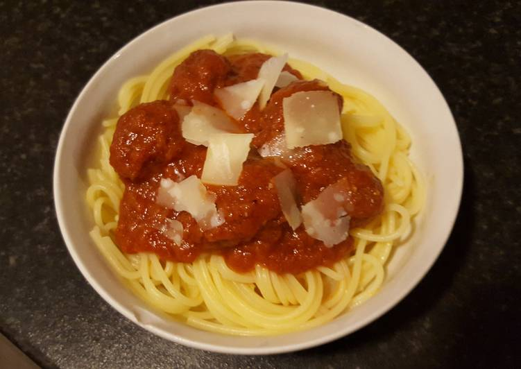 Recipe of Quick Jay's Meatball Sauce