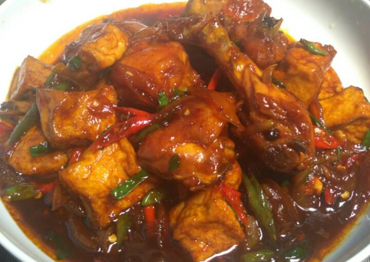 Resep Ayam Kecap Tahu Oleh Lita Kitchen Cookpad