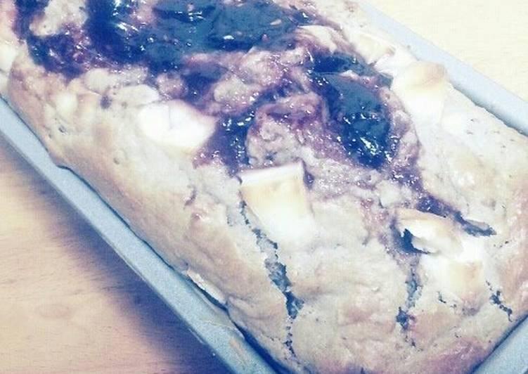 Cream Cheese Raspberry Cake Made with Pancake Mix!