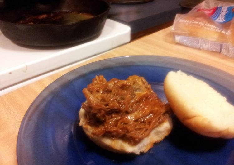 Steps to Prepare Speedy Casey's BBQ Pulled Pork