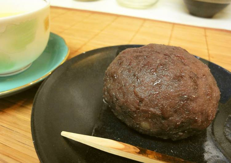 Simple Way to Make Ultimate Easy Ohagi with Leftover Rice