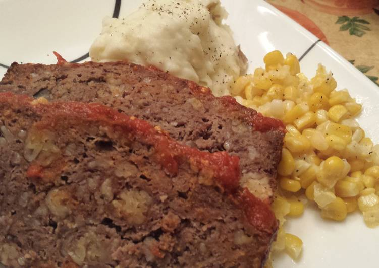 Recipe of Super Quick Homemade Mimi's Meatloaf