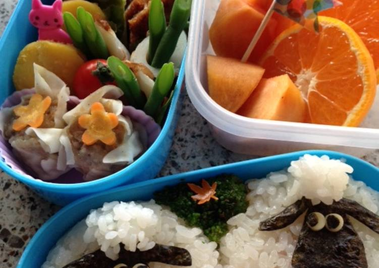 Shaun the Sheep Character Bento, Foods That Are Good For Your Heart