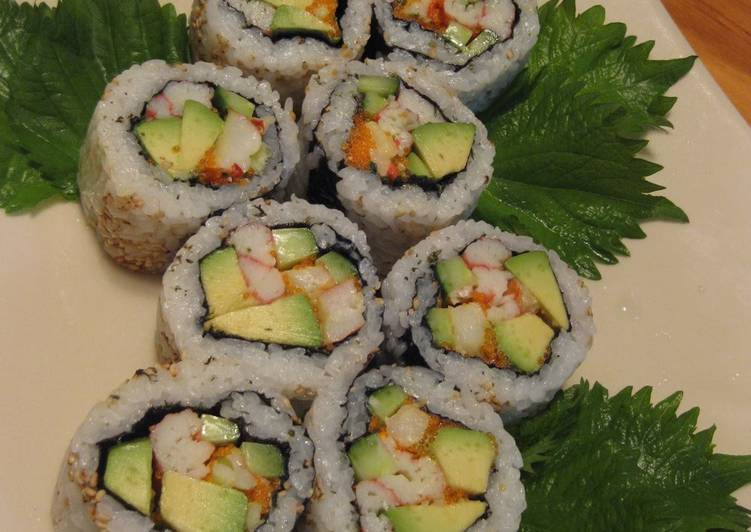 Simple Way to Prepare Perfect Authentic California Roll