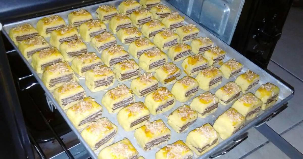 Resep Kue Kering Wafer Oleh Tri Wd Cookpad