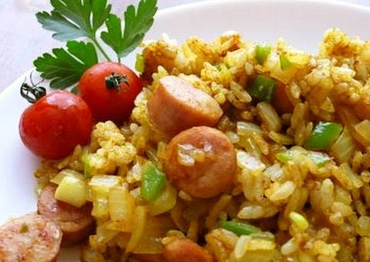 How to Prepare Any-night-of-the-week ★ Curry Flavoured Fried Rice ★