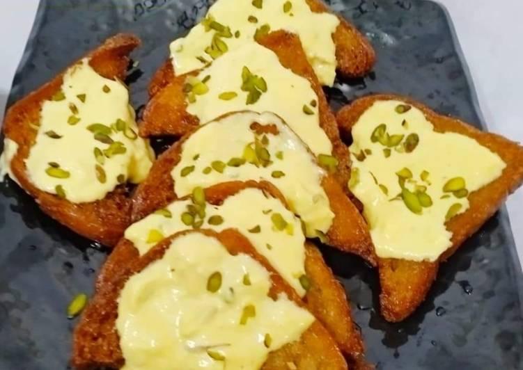 How to Make Homemade Shahi tukda