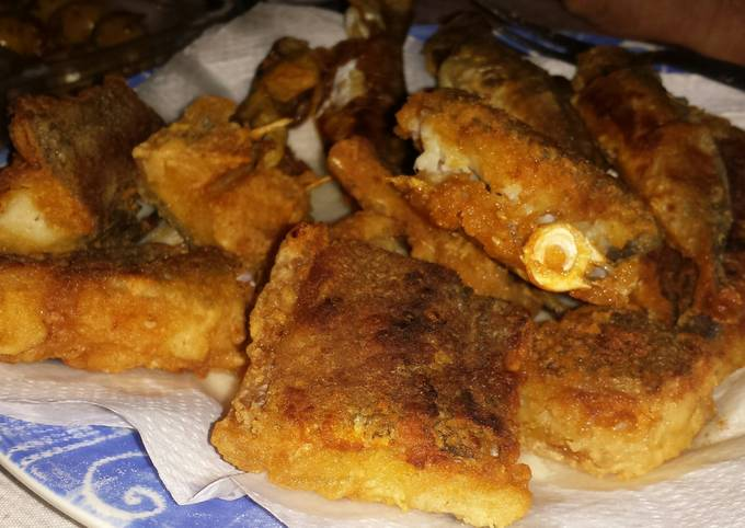 Fried Salted Cod