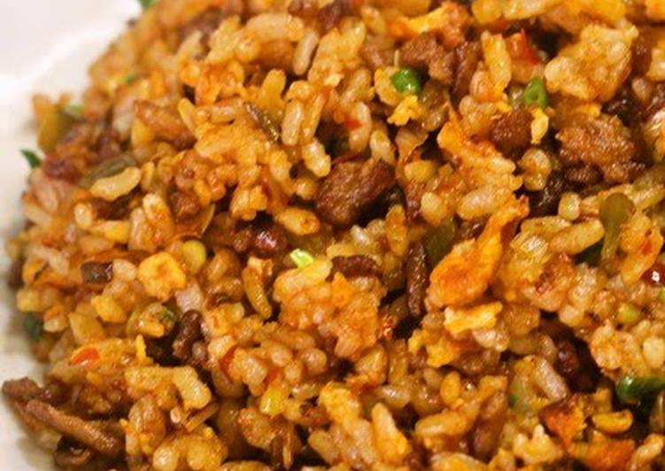 Steps to Prepare Ultimate Sichuan-style Fried Rice