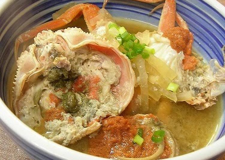 Snow Crab in a Delicious Broth