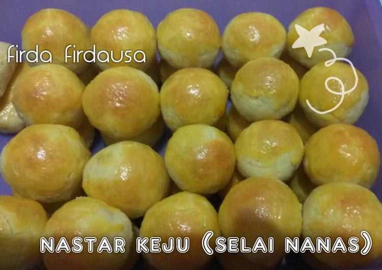 Nastar keju (selai nanas)