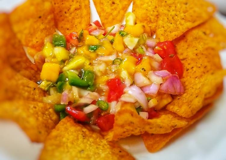 Steps to Make Ultimate Sweet and Sour Mango salsa