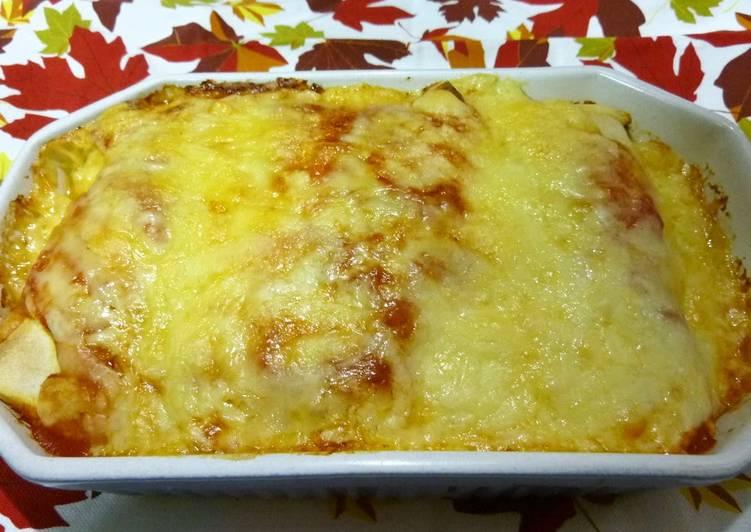 How to Prepare Quick Chicken Enchilada