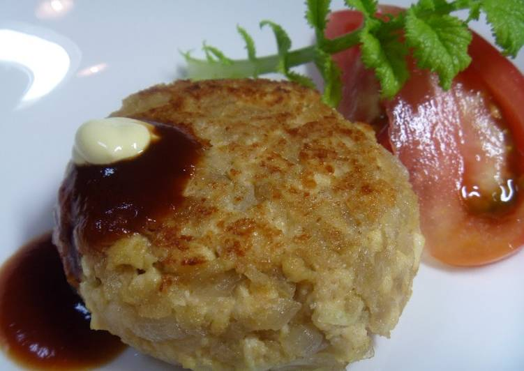 Macrobiotic Diet - Spring Onion Tofu Hamburger Patties