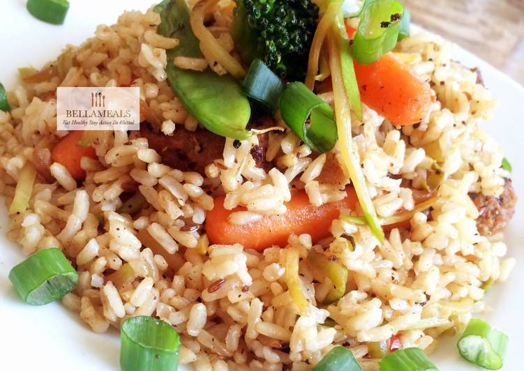 Healthy Mixed Brown Rice