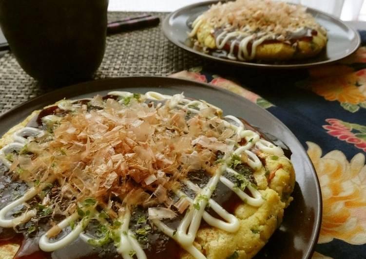 Just Mix In A Plastic Bag (Okara Okonomiyaki) - Laurie G Edwards