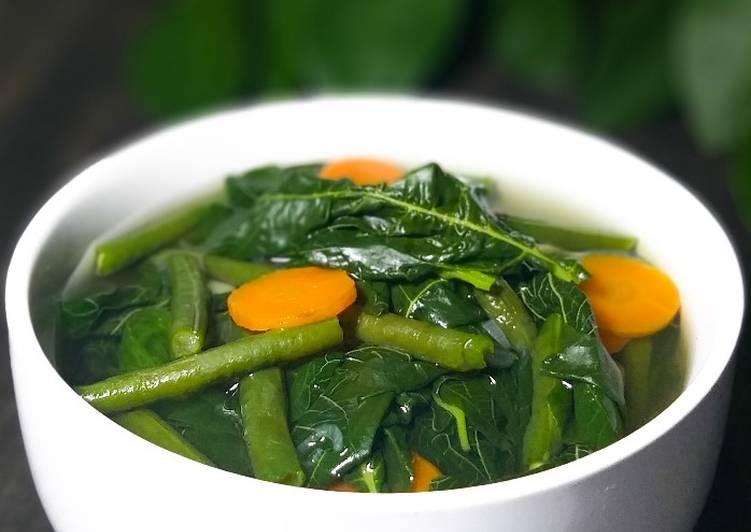Resep Rahasia Sayur Bening Bayam Paling Enak Resep Masakanku
