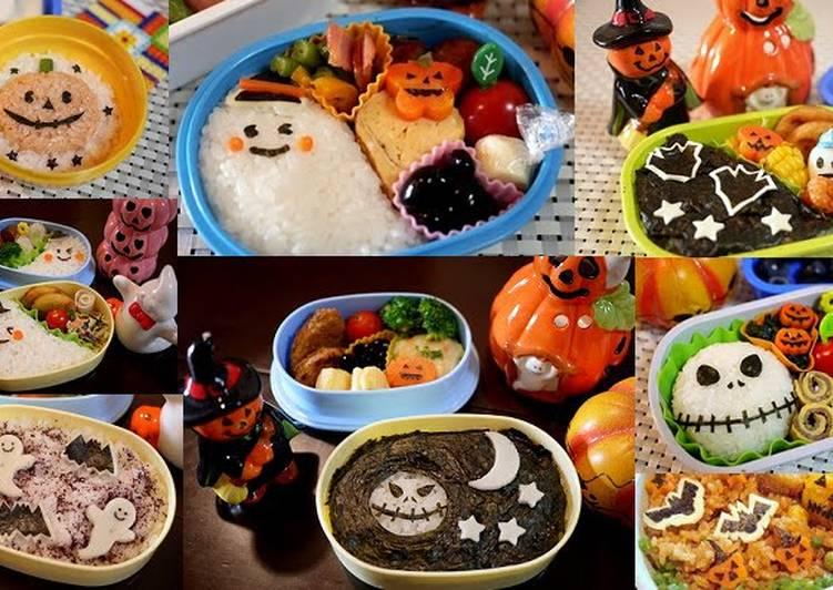Top 10 Dinner Ideas Winter Halloween Bento (Charaben)
