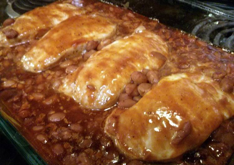 Dr Pepper Pork with Ranch Beans