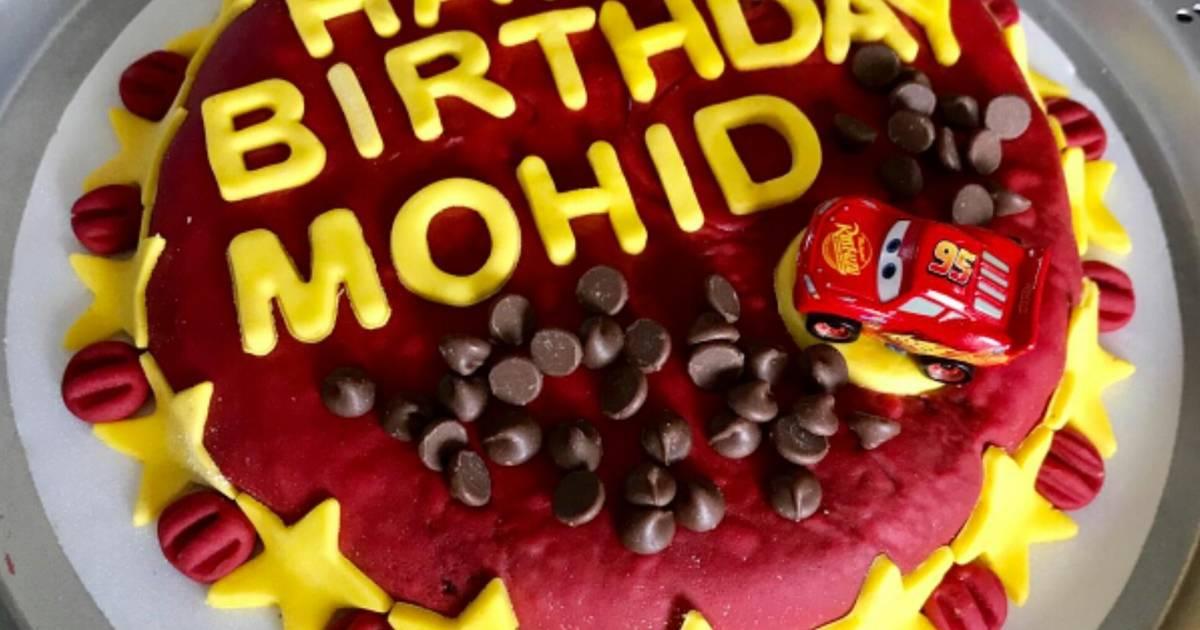 Super Chocolate Cake For Birthday Recipe By Maria Shujaat Cookpad Personalised Birthday Cards Veneteletsinfo