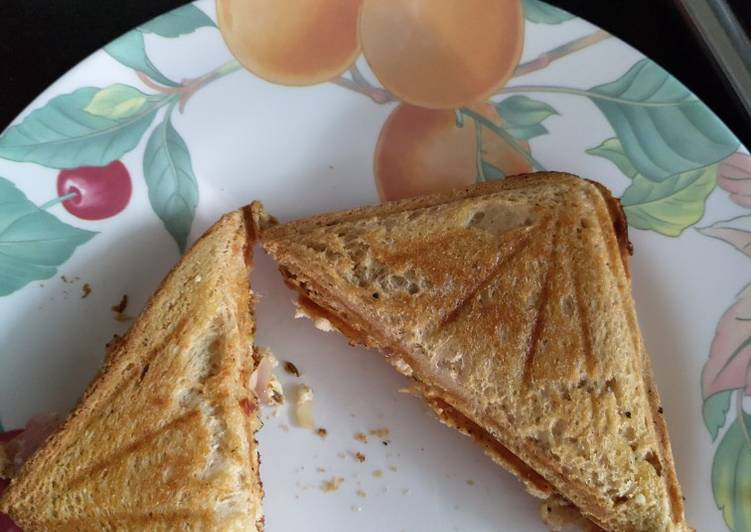 10 Minute Recipe of Love Paneer patty(paneer toast)