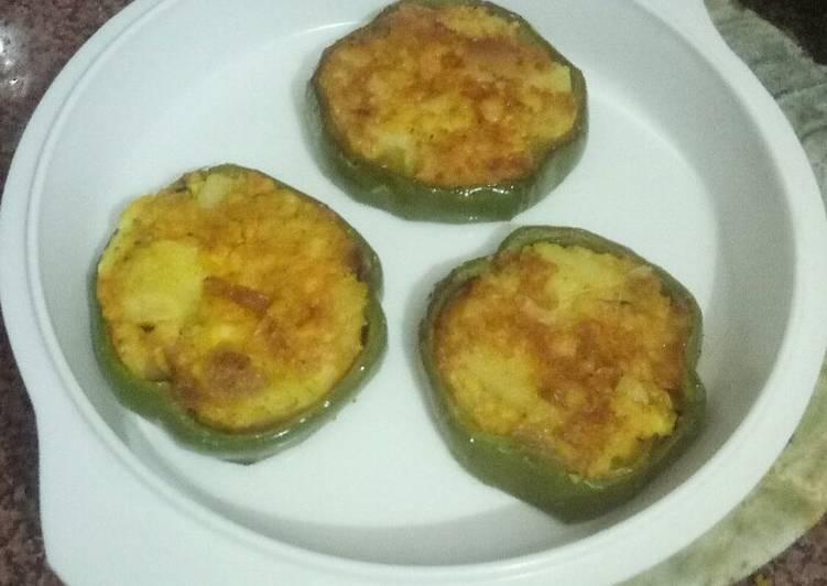 Best Comfort Dinner Ideas Autumn Shimla mirch and paneer tikki