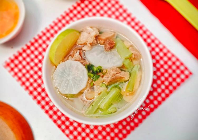 Soto Bandung + Tips Memilih Lobak