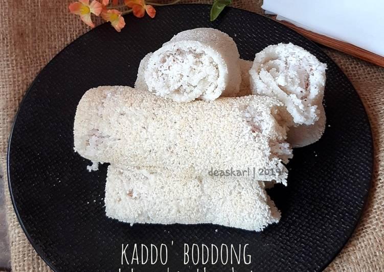 Kaddo' Boddong (Dadar Gulung Khas Bugis)