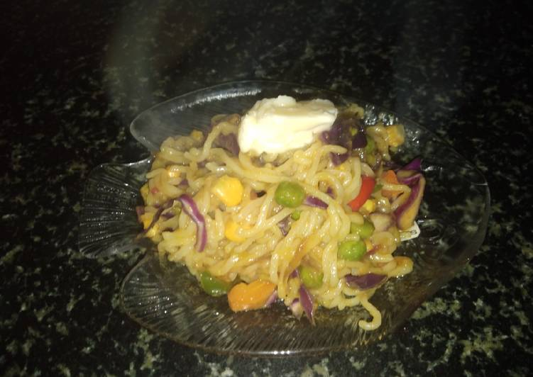 Simple Way to Prepare Any-night-of-the-week Butter Hot veg noodles