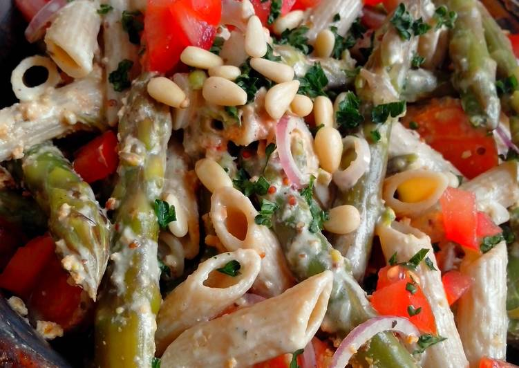 whopping wholegrain-pasta salad