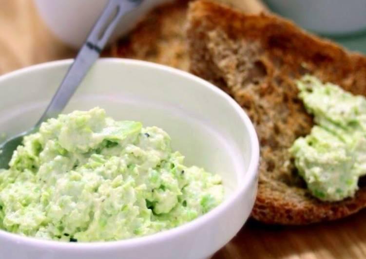 Fava Bean Dip (Dairy-Free Version added)