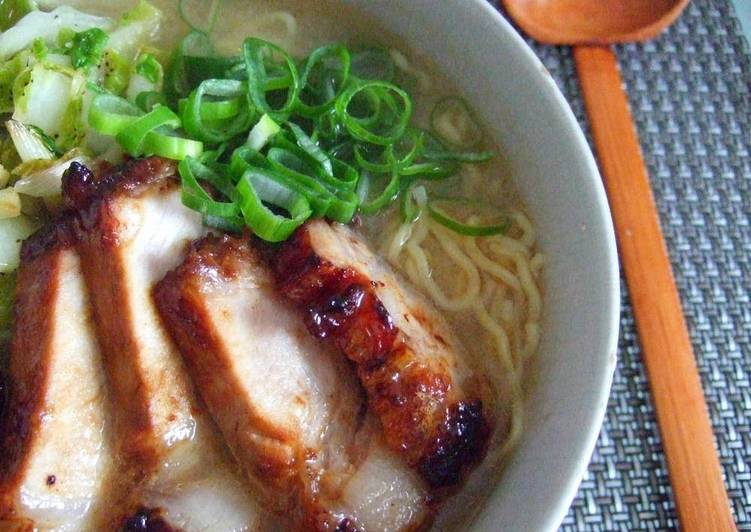 Recipe of Super Quick Homemade Simple and Authentic Miso Ramen Soup