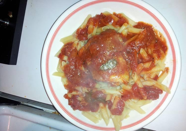 Recipe: Appetizing Chicken Cacciatore