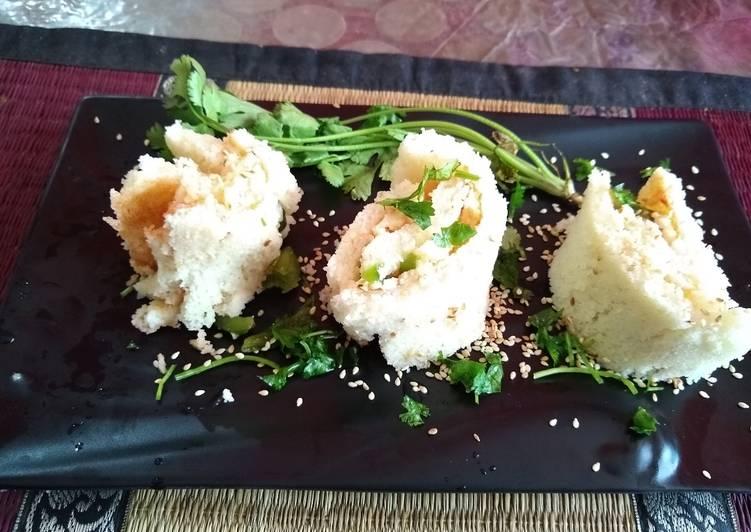Sushi Dhokla
