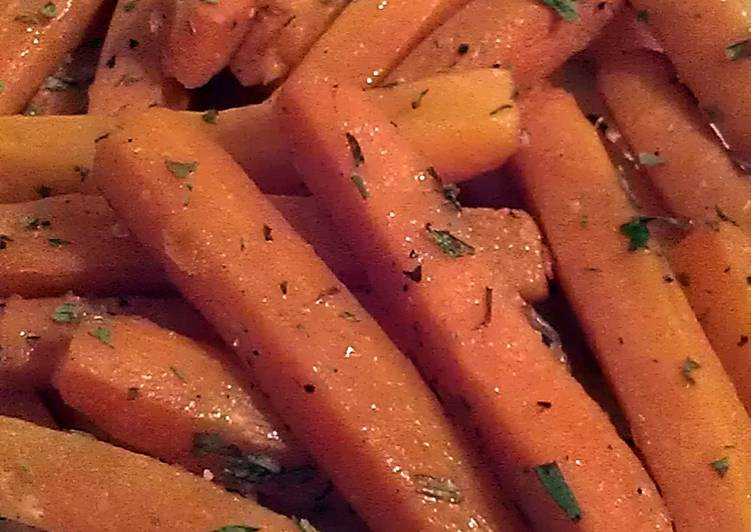 Recipe: Yummy Vickys Healthier Carrot Chips / Fries