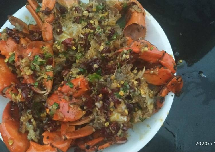 Authentic Chinese crab
